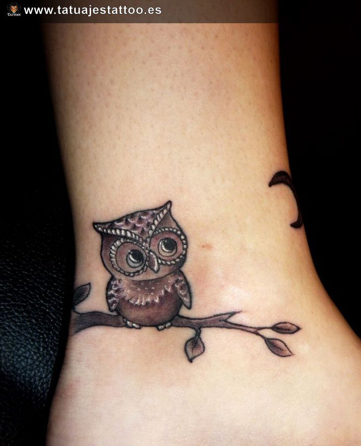 tatuajes de buhos para mujeres