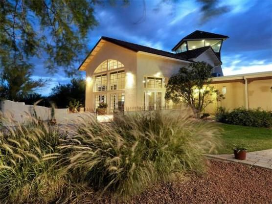 Hangar Homes For Sale: Living in a Airplane Fly-In Private Arizona Airstrip Property   Luxury Scottsdale Homes for Sale