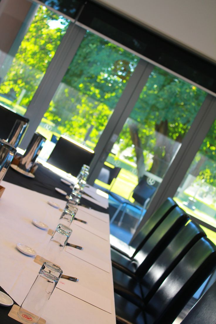 The green trees of Latimer Square makes for a beautiful outlook of from the conferencing floor at Rydges Latimer Christchurch.