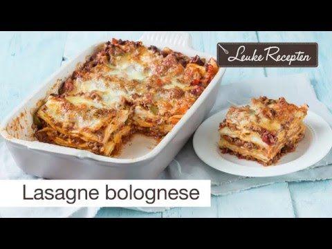 Lasagne bolognese - Leuke recepten