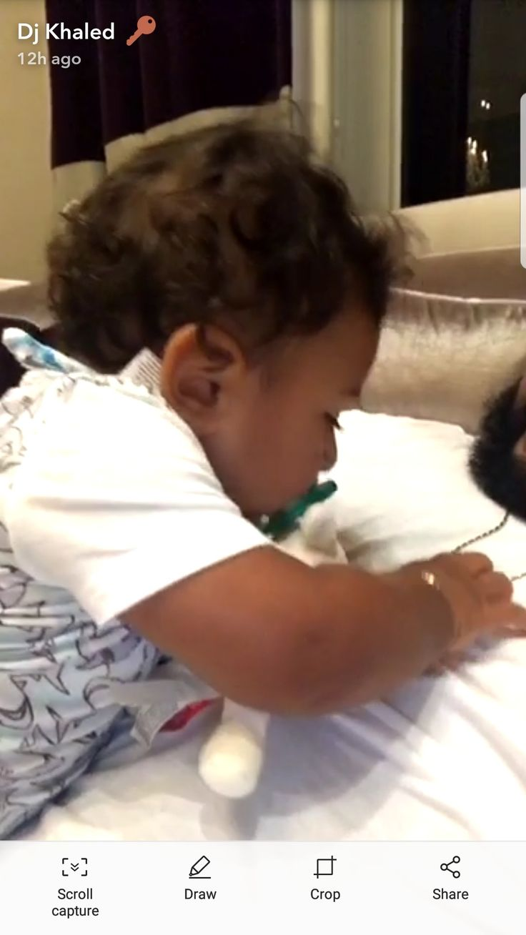 DJ Khalid's 9 month old son Asahd tired from swimming lesson JULY 24th 2017