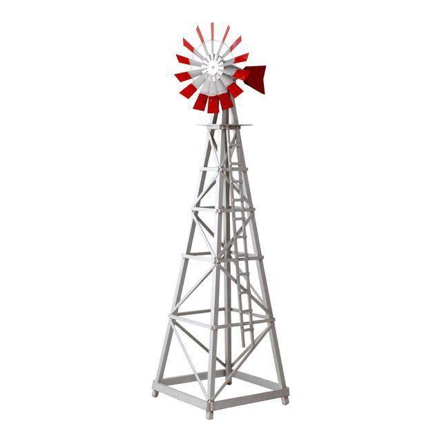 Vintage Garden Windmill In 2020 Garden Windmill Vintage Garden Windmill