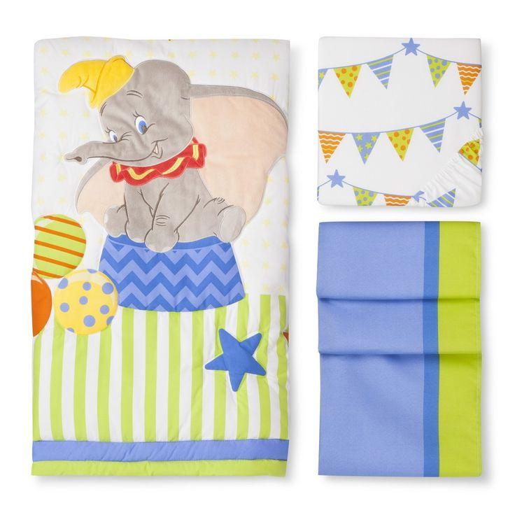 Dumbo 3pc Crib Bedding Set Crib Bedding Bedding Sets And Ps