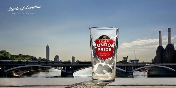 New Work, London Pride Beer, Tapestry, London Pride, Print, Outdoor, Ads