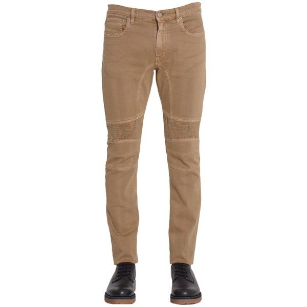 Belstaff Trousers ($300) ❤ liked on Polyvore featuring men's fashion, men's clothing, men's pants, men's casual pants and beige
