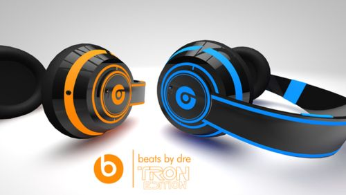 Beats by Dre Tron Edition.  Concept but I wish they were real.
