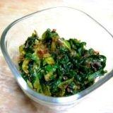 セロリの葉の常備菜