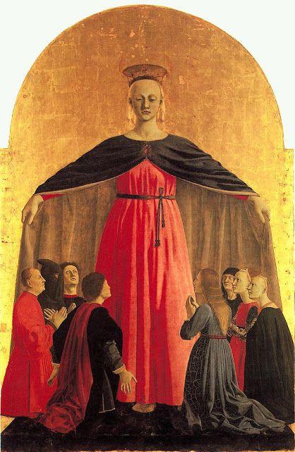 Piero della Francesca (Early Renaissance painter, c 1415–1492) Madonna della Misericordia