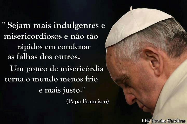 Folha certa : Papa Francisco: mensagem do pontífice