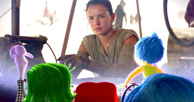 Watch 'Inside Out' Emotions React to 'Star Wars 7' Trailer -- Joy, Sadness, Fear, Anger and Disgust all marvel at the new 'Star Wars: The Force Awakens' trailer as their own movie 'Inside Out' hits DVD and Blu-ray this week. -- http://movieweb.com/star-wars-force-awakens-trailer-inside-out-reaction-video/