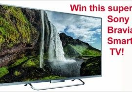 Red Ferret Summer Giveaway 3 – win a superb Sony Bravia W65 Smart TV [UK Giveaway]