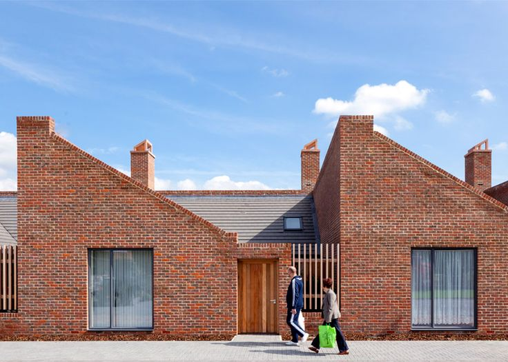 Brick Bungalows Provide Social Housing For Elderly Residents East London Bungalow And Bricks