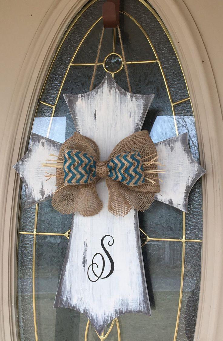 The 25+ best Cross door hangers ideas on Pinterest ...