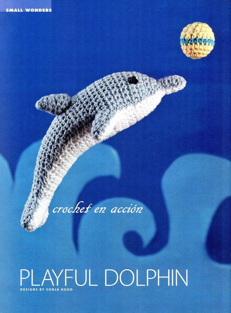 Crochet En Acción: El delfin