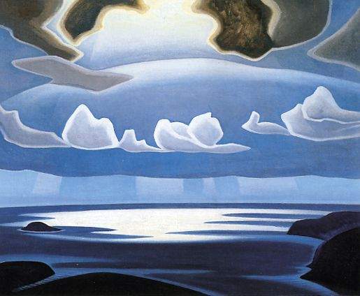 North Shore, Lake Superior, by Lawren Harris, ca.1923. Group of Seven