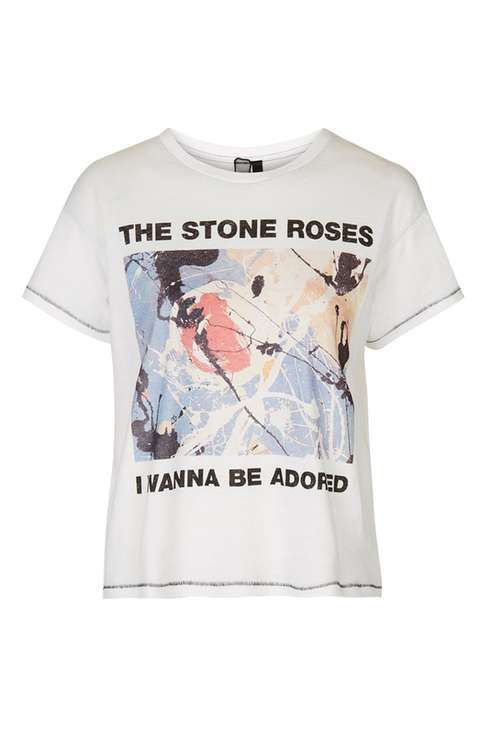 Stone Roses Tee by And Finally - Tops - Clothing