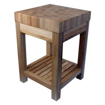 butcher block. need this on wheels in 2019 Butcher block kitchen, Kitchen island decor ...