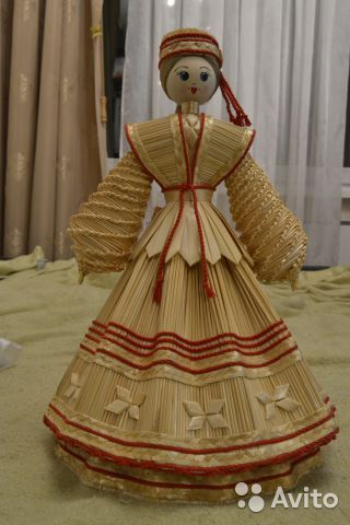 Соломенная кукла - сувенир из Беларуси