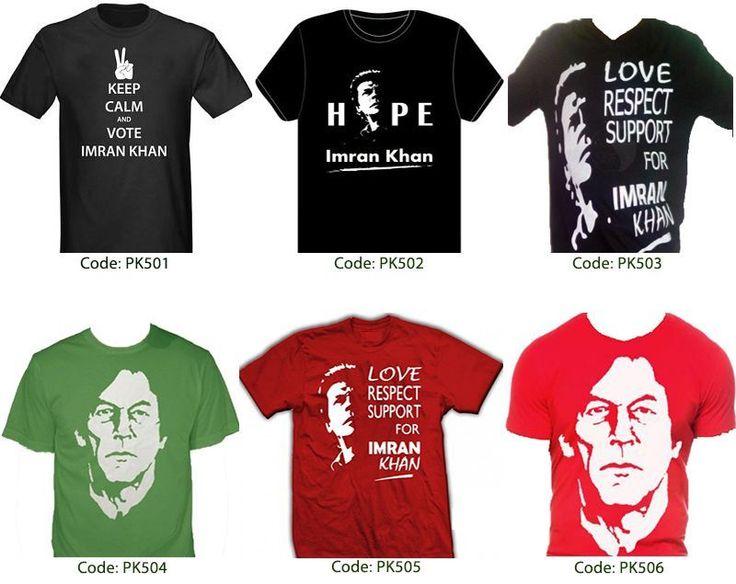 Imran Khan Shirts - PTI shirts - Cricket teams shirts - Shirts of top leaders #PkBazaar