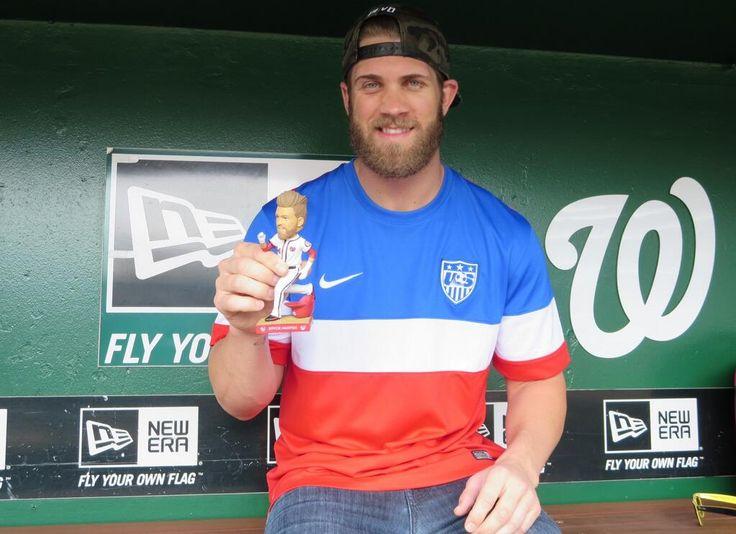 .@BHarper3407 & his bobblehead support @USSoccer! Cheer Team USA today & get a bobblehead Mon. http://atmlb.com/1nHMnzv pic.twitter.com/mq7KPFSMJQ