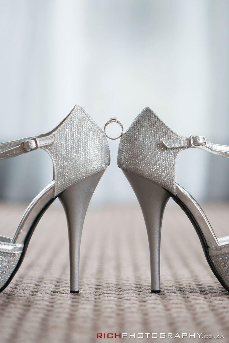 Heels and Diamonds are a girls best friend #Always #WeddingIdeas #WeddingPhotos #Bling #Shoes