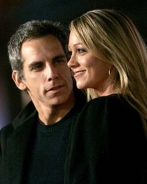 Ben Stiller and his wife, Christine Taylor