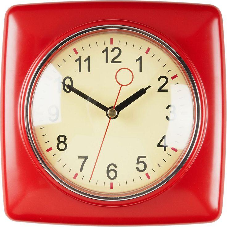 17 Best Ideas About Retro Clock On Pinterest