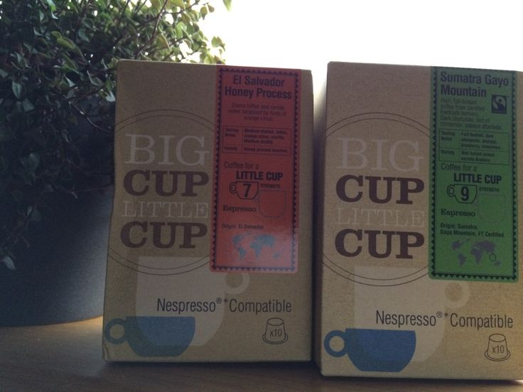 Review of Big Cup Little Cup  - Nespresso alternative capsules with discount code