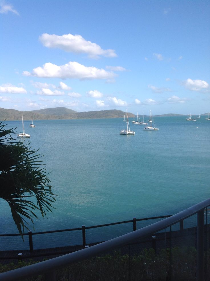 Early morning at Airlie Beach, Queensland, Australia
