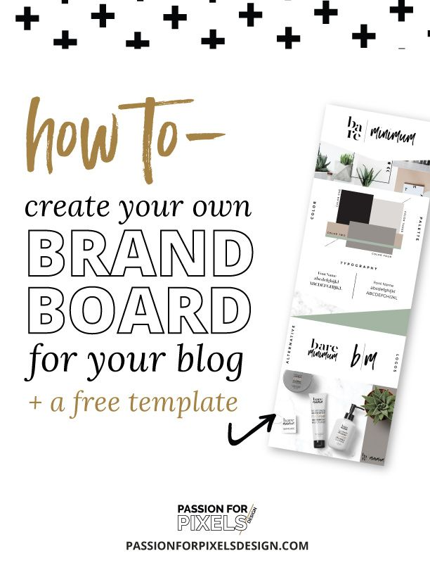 how to create your own brand board for your blog free With design your own blogger template free