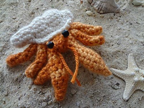 Amigurumi Hermit Crab : 1000+ images about Toys, Home & Miscellaneous: 2016 ...