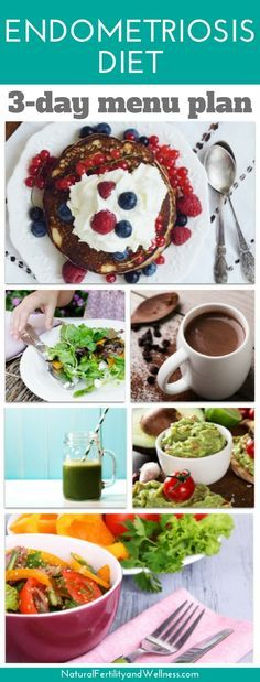 Take it from me, what you put on your plate will make a difference. I put together a basic three day endometriosis diet menu plan to make it easy for you!
