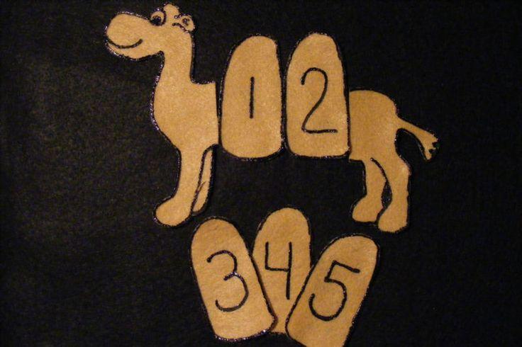 "Felt Board/ Flannel Story- ""Sally the Camel"" circle time preschool"