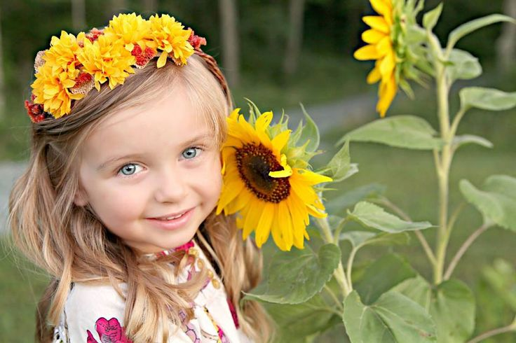 Perfect for Fall Photoshoots!! Sunflower Floral Crown - Flower Halo in fall colors - Flowergirl hairpiece - Newborn Photo Prop - Wedding Crown - Floral Hairpiece by LittleLadyAccessory on Etsy