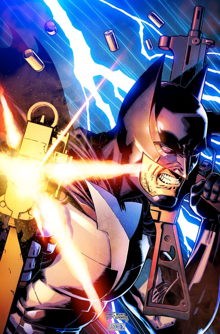 Batman by Bruno Redondo