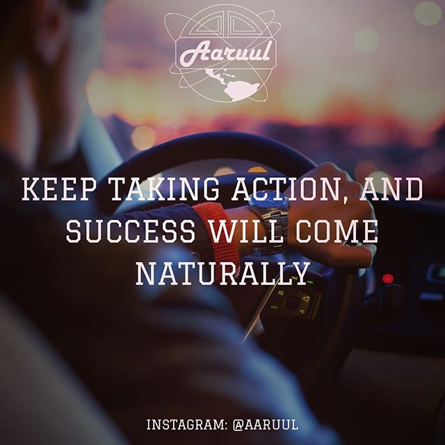 @aaruul @aaruul #keep #taking #action #and #success #will #come #love #tbt #inspiration #passion #goal #motivation #hashtag #like4like #fashion #fitness #gym #persistence #car #cars #elite #fun #precious #aaruul #80s #retro #discipline #goodlife