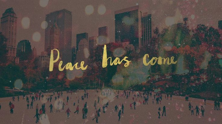 "Peace Has Come (Hillsong) Christmas Eve? Multitrack avail. Great lyric video.  'Peace is not merely the absence of external trouble - it is the ""presence of a Saviour"" who cares about the human condition. Everything Jesus did pointed to..."