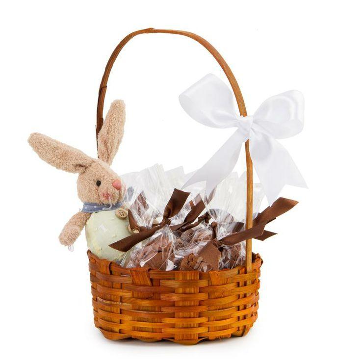 Nesta versão páscoa, os brownies vem em formato de pequenos ovos, dentro de uma cestinha que deixa o presente ainda mais lindo e com a cara de quem foi a uma caça aos ovos de páscoa! FOUND IT! - Presentes especiais para todas as ocasiões.