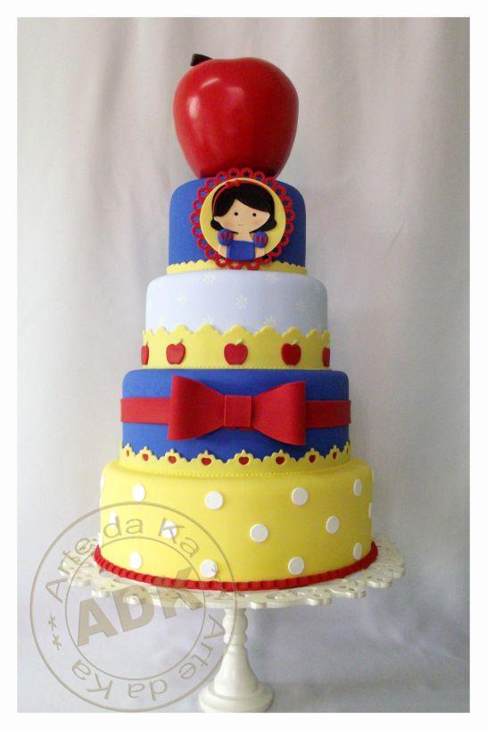 snow white cake. I like the bottom 3 layers.