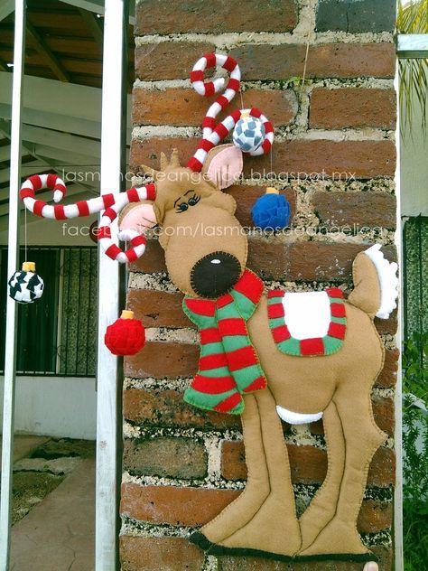 Las Manos de Angelica: Reno de Navidad Más