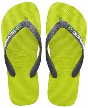 Havaianas Herren/Damen Flip Flops Simpsons Grösse 45/46 EU (43/44 Brazilian) Ice Grau Zehentrenner für Männer/Frauen joWmRa