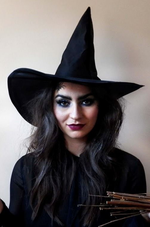 Halloween Wicked Witch Makeup