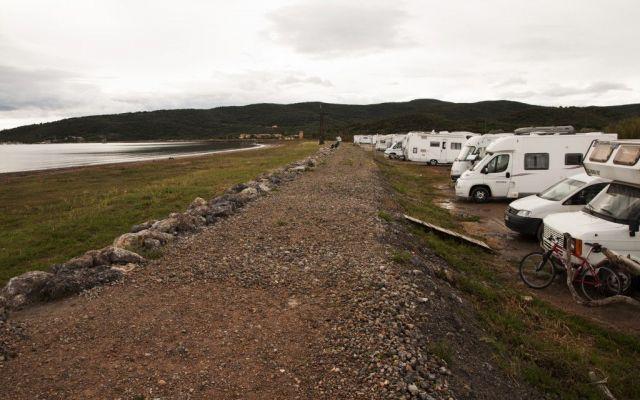 Parcheggi e aree camper sulla baia di Talamone #camper #luoghi #viaggio #talamone