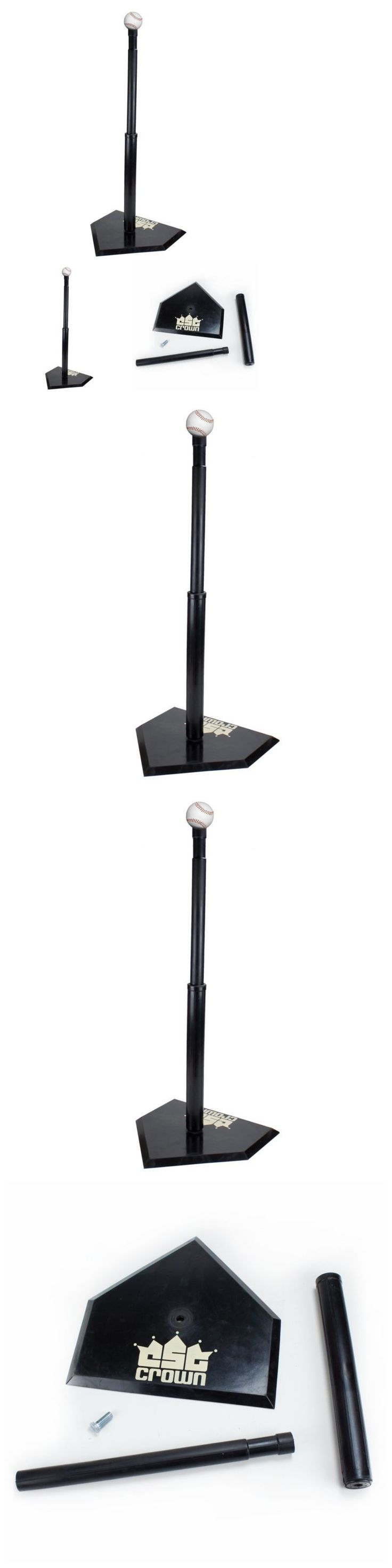 Batting Tees 108139: Crown Sporting Goods Youth Adjustable Height Baseball Batting Tee -> BUY IT NOW ONLY: $40.95 on eBay!