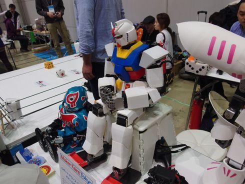 いざ、メイカーズの祭典「Maker Faire Tokyo 2014」へ(2014/11/26) https://modelabo.itmedia.co.jp/info/info_blog141126/
