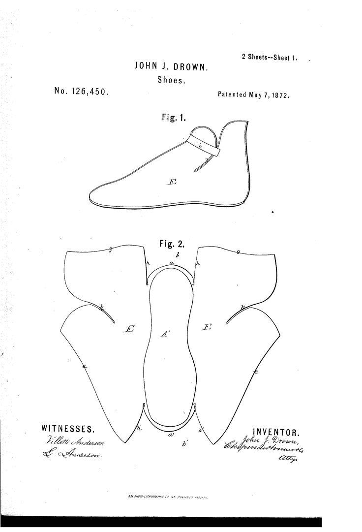 US126450 Патент - Улучшение обуви - Google Патенты