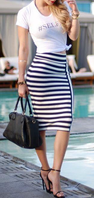 Ponte a la moda, YA! Los 13 mejores OutFit de falda. El #12 Me encanta!!!   La Casa Del Curioso