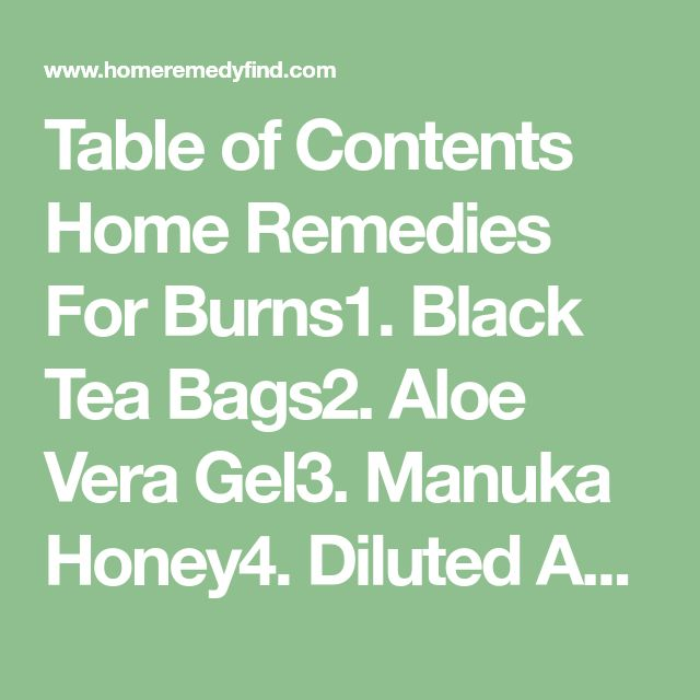Table of Contents Home Remedies For Burns1. Black Tea Bags2. Aloe Vera Gel3. Manuka Honey4. Diluted Apple Cider Vinegar5. Milk6. Baking Soda7. Egg Whites 55 Shares Pin Share TweetBurn injuries can be extremely painful. Any type of injury to the superficial layers of skin or to the deeper layers of body tissues due to direct […]