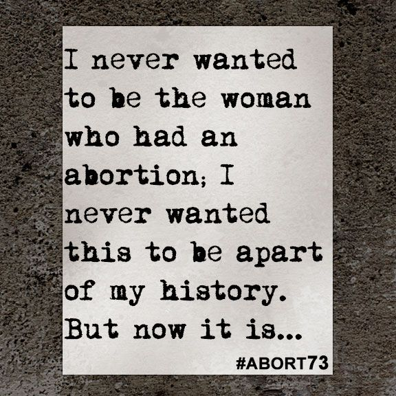 This abortion story came to Abort73 through our online submission form and was received from Pennsylvania on December 22, 2015.