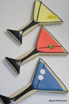 martini cookies - Google Search